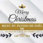 Menu spécial de Noel